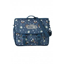 """Cartable """"Globetrotter Satchel, Look At The Stars"""" - polyester recyclé"""