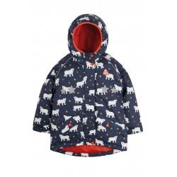 "Veste ""Explorer Waterproof Coat, Polar Bears"" - polyester recyclé"