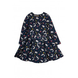 "Robe ""Sofia Skater Dress, Meadow Snoozing"" - coton bio"