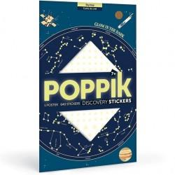 """Poster pédagogique + 640 stickers """"Etoiles phosphorescentes"""""""