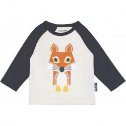 "T-shirt manches longues ""Renard"" - coton bio"