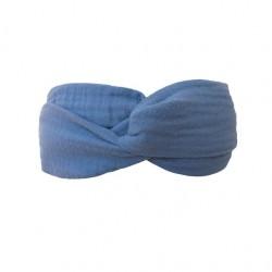 "Bandeau ""Lovely Blue"" - coton tetra"