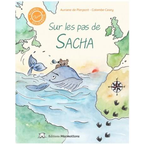 """Livre """"Sur les pas de Sacha"""""""