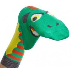 """Chaussettes marionnettes """"Dragon"""""""