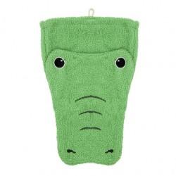 "Gant de toilette ""Crocodile"" - grand format"