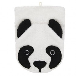 "Gant de toilette ""Panda"" - grand format"