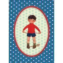"""Postkaart """"Jongen"""""""