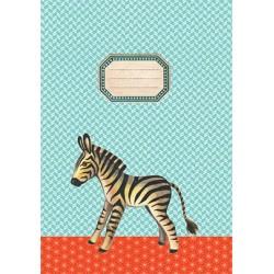 "Schriftje ""Zebra"""