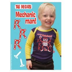 """T-shirt bébé """"Mechanic"""" - made in Belgium"""