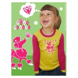 """T-shirt """"Poodle"""" - made in Belgium"""