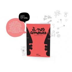 """Livre """"À nos amours"""""""