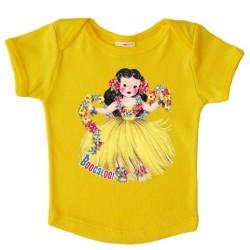 "T-shirt ""Aloha"" sun - made in Belgium"