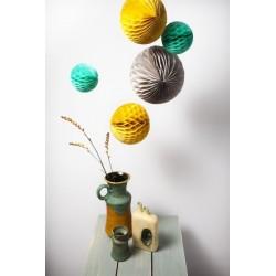 """Set de 3 boules nid d'abeilles """"Retro"""""""