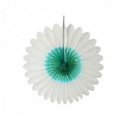 """Papieren bloem """"Wit-ocean"""" diameter 32 cm"""