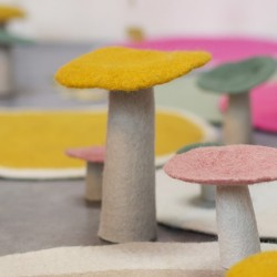 Vilten paddenstoel L
