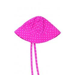 """Chapeau / bob réversible """"Ditsy Hat"""" Natural Summer Mushrooms - coton bio"""