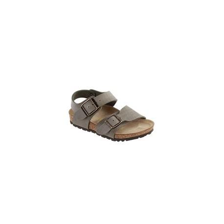 """Chaussures Birkenstock enfant NEW YORK """"Dark Grey"""""""