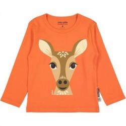 T-shirt manches longues MIBO biche - coton biologique