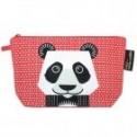 """Trousse écolier """"Panda"""" - coton biologique"""
