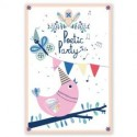 """8 cartes d'invitation """"Poetic Party"""""""