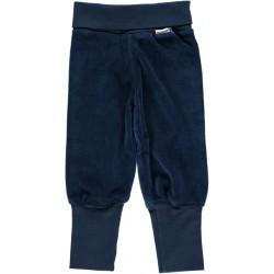 """Pantalon bébé velours """"Dark Blue"""" - coton bio"""