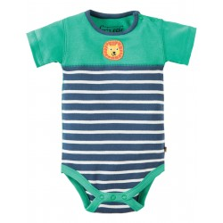 "Body ""Soft Navy Breton/Lion"" - coton bio"