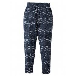 "Pantalon ""Soft Navy Spot"" - coton bio"