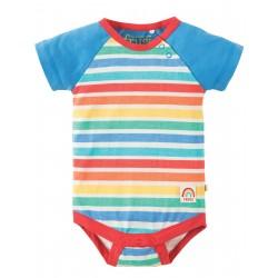 "Body ""Rainbow Candy Stripe"" - coton bio"