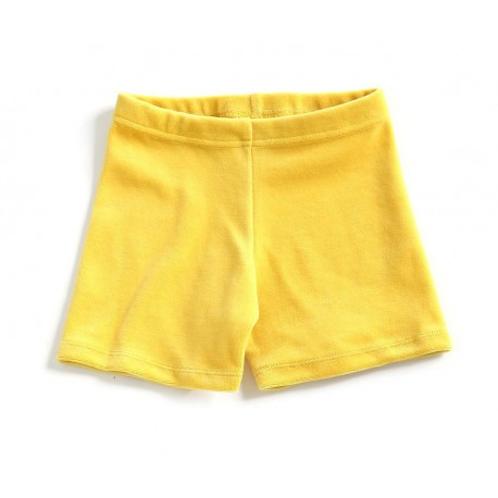 """Short """"Velvet yellow"""""""