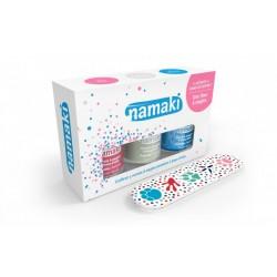 Coffret 3 vernis à ongles pelables à base d'eau - NAMAKI
