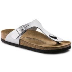 "Chaussures Birkenstock Gizeh ""Silver"""