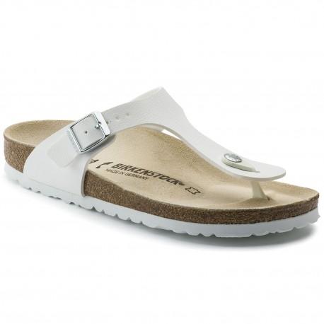 """Chaussures Birkenstock Gizeh """"White"""""""