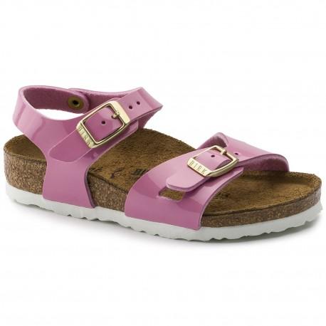 "Chaussures Birkenstock enfant RIO ""Cashmere Rose"""