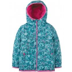 "Veste de pluie ""Toasty Trail Jacket, Alpine Meadow"" - polyester recyclé"