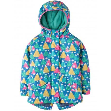"""Veste """"Nellie Explorer Waterproof Coat, Happy Hikers"""" - polyester recyclé"""