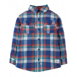 "Chemise ""Hector Checked Shirt, Cosy Check"" - coton bio"