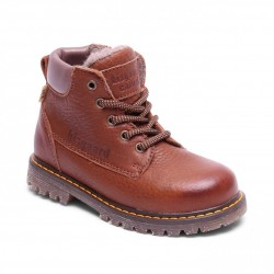 "Chaussures Bisgaard ""Tex boot laces"" Brandy"