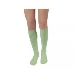 """Chaussettes hautes """"Tilleul"""" - Made in France"""