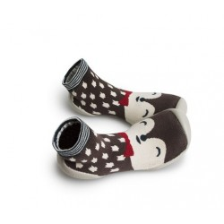 "Chaussons Unik ""Renard Polaire"" - Made in France"