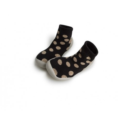 """Chaussons """"Disco Gold Viva"""" - Made in France"""