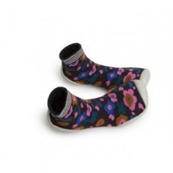 "Chaussons ""Vodoo - Fleur Inca"" - Made in France"