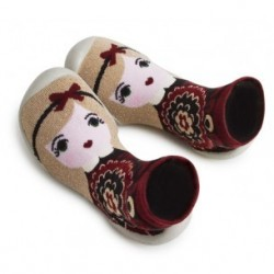 """Chaussons """"Winter in Russia - Tsarine"""" - Made in France"""