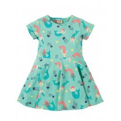 "Robe ""Little Spring Skater Dress, St Agnes Mermaid Magic"" - coton bio"