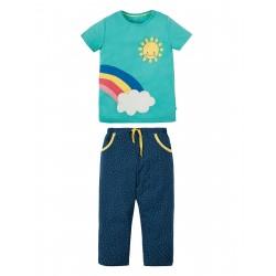 "Pyjama ""Petal Pocket Pyjamas, St Agnes Rainbow"" - coton bio"