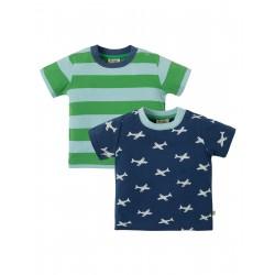"Assortiment de 2 t-shirts ""Tresco T-shirts 2 Pack, Take Off Multipack"" - coton bio"