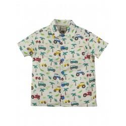 "Chemise enfant ""Harvey Hawaiian Shirt, Tropical Tresco"" - coton bio"