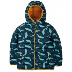 "Veste de pluie ""Toasty Trail Jacket, A Whale Of A Time"" - polyester recyclé"