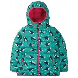 """Veste de pluie """"Toasty Trail Jacket, Penguin Paddle"""" - polyester recyclé"""