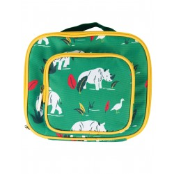 "Lunch Bag ""Pack a Snack, Rhino Ramble"" - polyester recyclé"