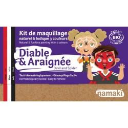 """Kit de maquillage 3 couleurs """"Diable & Araignée"""""""